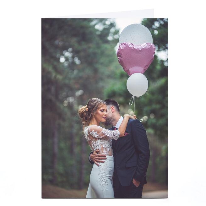 Photo Wedding Card - Full Photo Portrait
