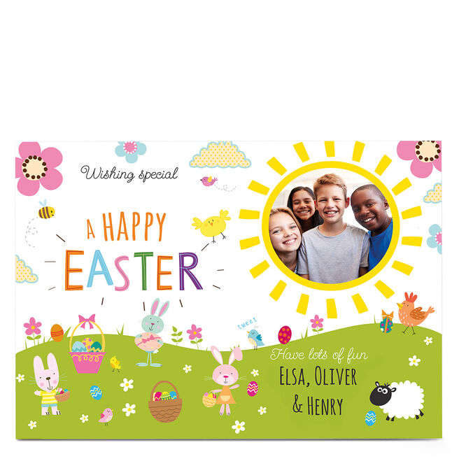 Photo Easter Card - Have Lots Of Fun