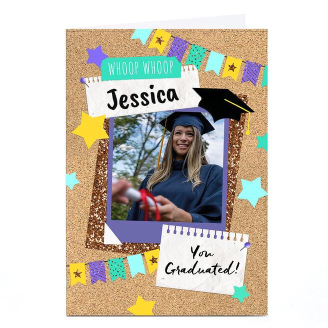 Personalised Photo Card - Eday You Graduated
