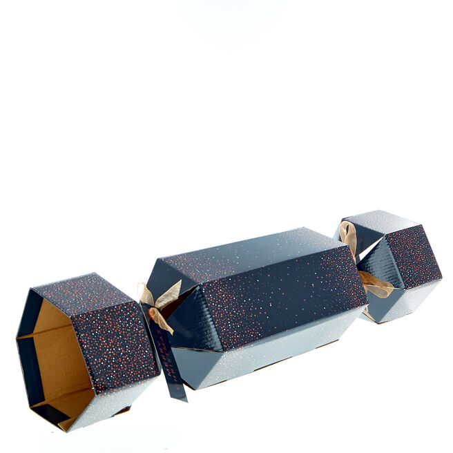 Navy & Copper Cracker Gift Box