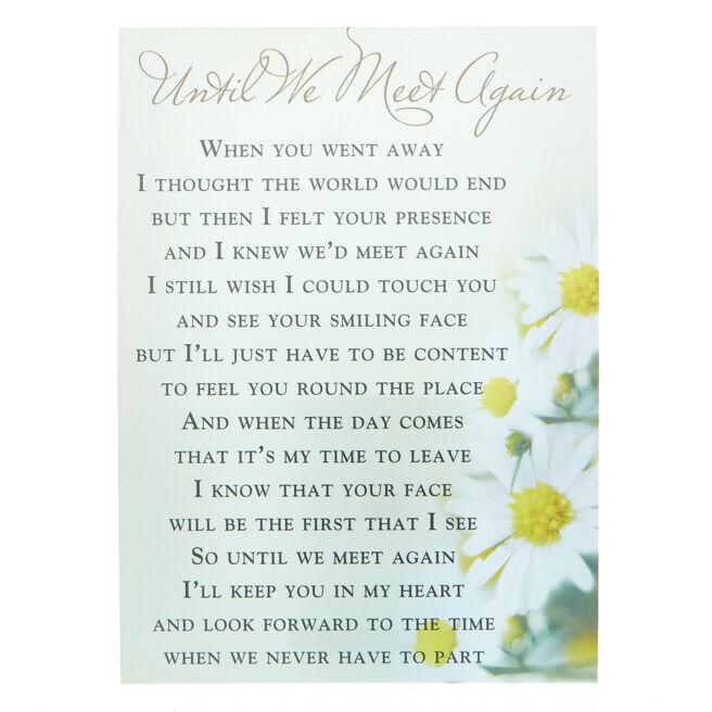 Love & Friendship Postcard - Until We Meet Again
