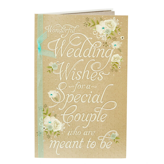 Wedding Card - Couple Who Are Meant To Be