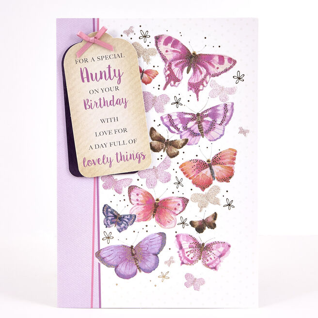 Signature Collection Birthday Card - Special Aunty
