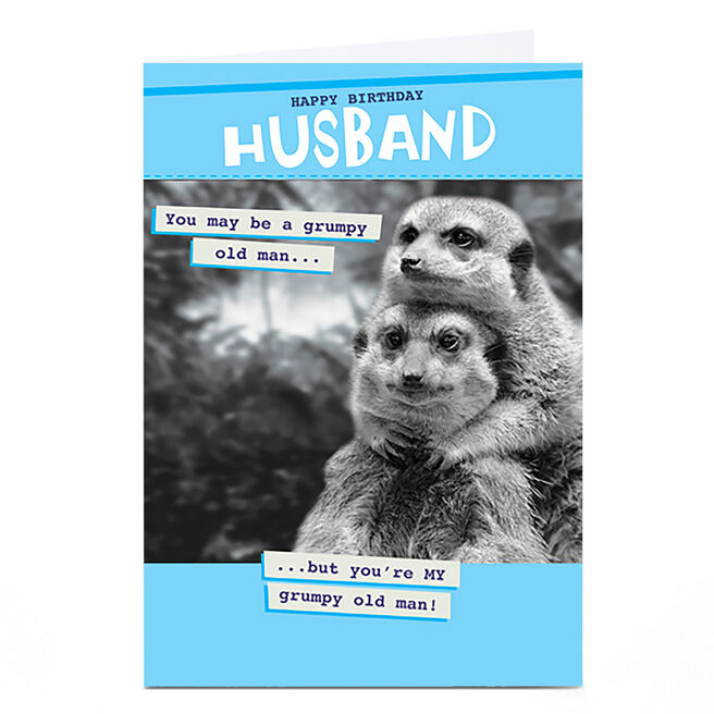 Personalised Quitting Hollywood Birthday Card - Husband