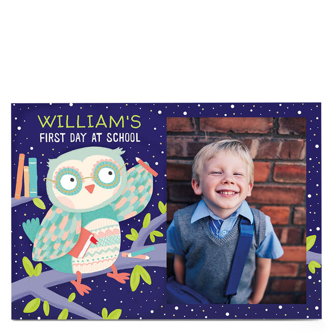 Photo Card - First Day of School