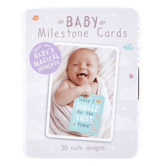 Teeny Wonders baby Milestone Cards