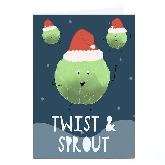 Personalised Phoebe Munger Christmas Card- Twist and Sprout
