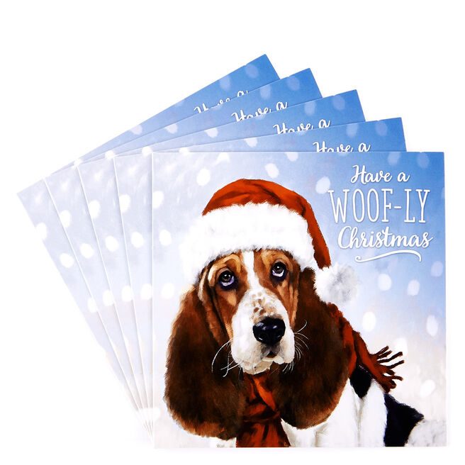 Charity Christmas Cards - Christmas Dog Pack Of 10