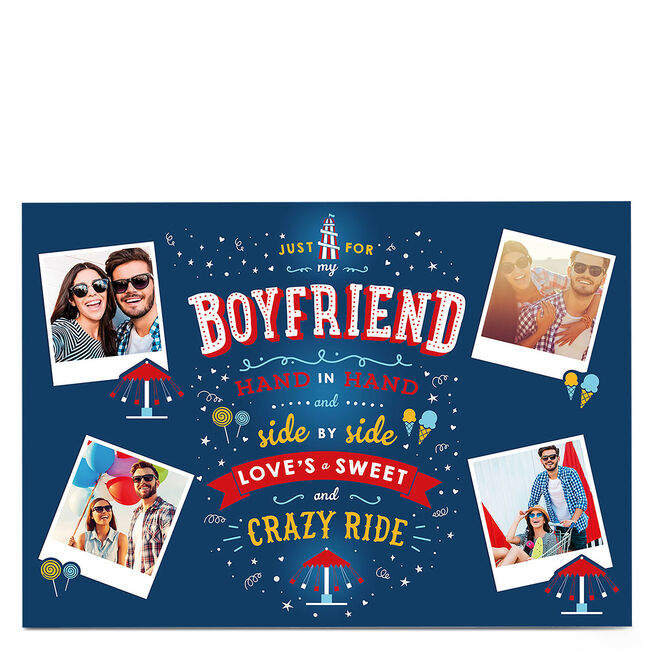 Multi Photo Card - Crazy Ride Boyfriend