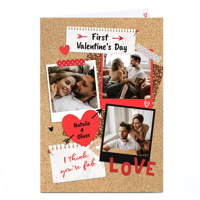 Photo First Valentine's Day Card - I Think You're Fab