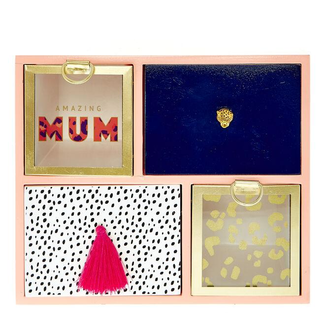 Amazing Mum Animal print Trinket Box