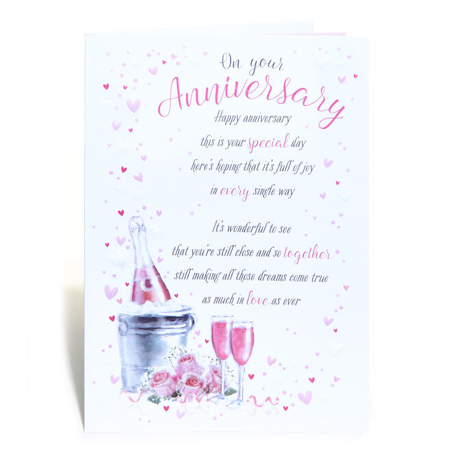 Anniversary Card - This Is Your Special Day