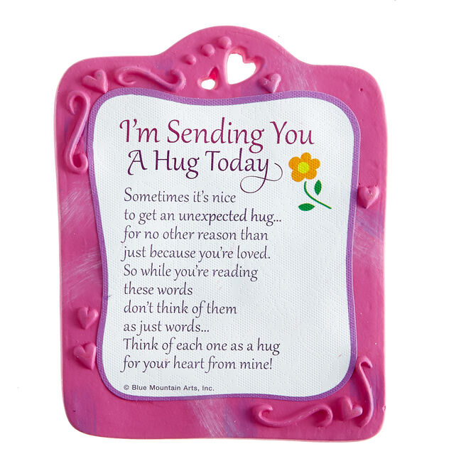Blue Mountain Arts Magnet - Sending You A Hug Today