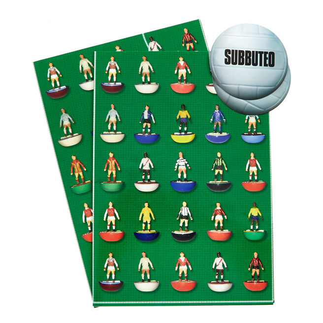 Subbuteo Wrapping Paper & Gift Tags - Pack Of 2