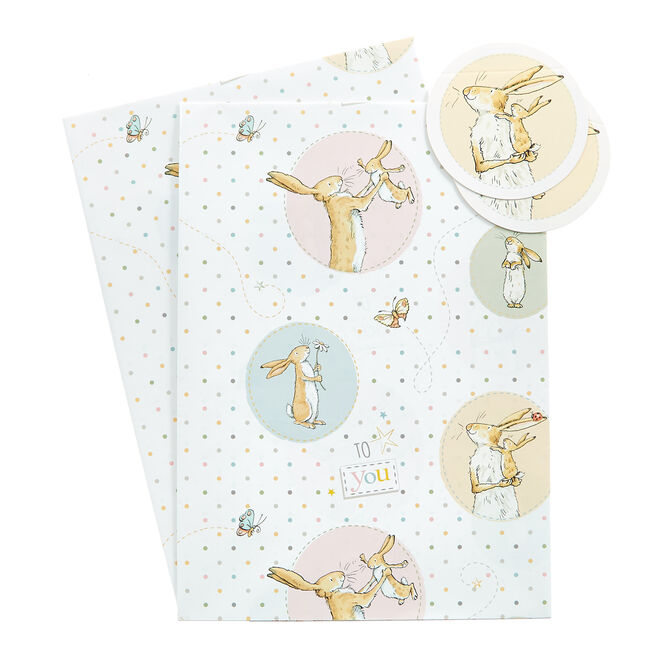 Guess How Much I Love You Wrapping Paper & Gift Tags - Pack Of 2