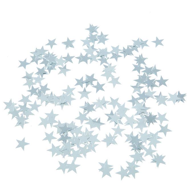 Metallic Silver Stars Foiletti - Pack Of 3