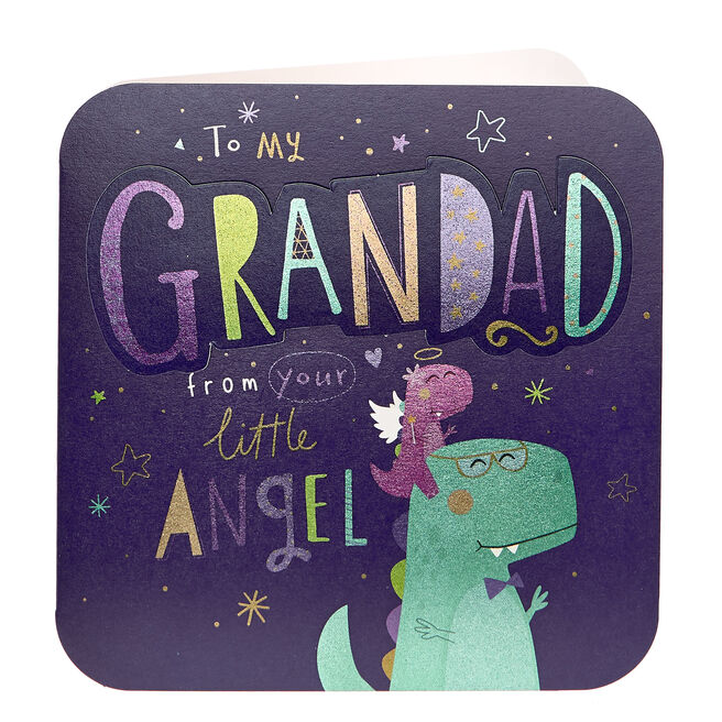 VIP Collection Father's Day Card - Grandad, Little Angel