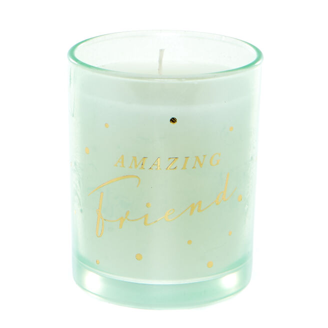 Amazing Friend Vanilla Scented Candle