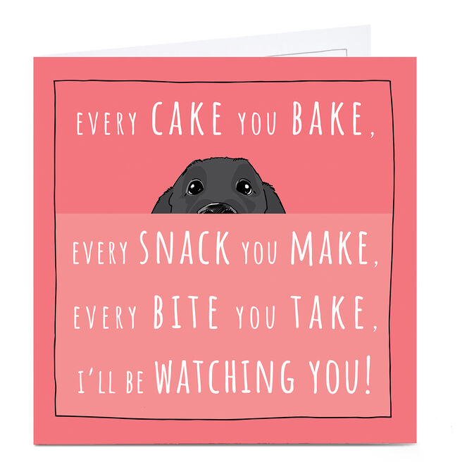 Personalised Totally Pawsome Card - Every Cake You Bake