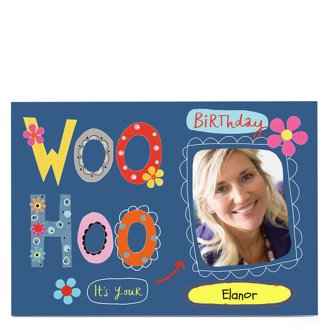 Photo Lindsay Loves To Draw Birthday Card - Woo Hoo