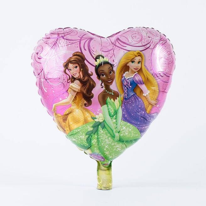 Disney Princess Foil Heart Helium Balloon