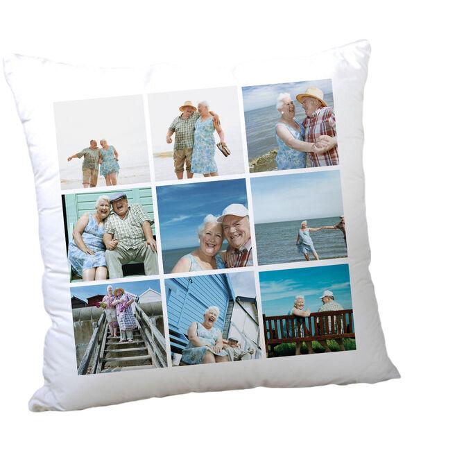 Multi Photo Valentine's Cushion - 9 Photos