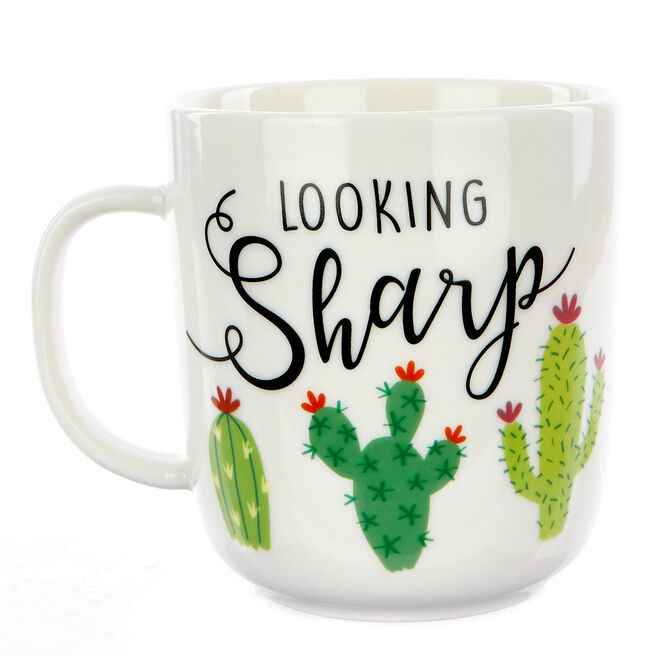 Looking Sharp Cactus Mug
