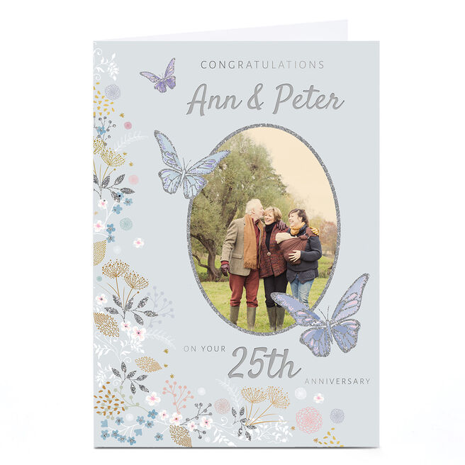 Photo Kerry Spurling Anniversary Card - 25th Anniversary