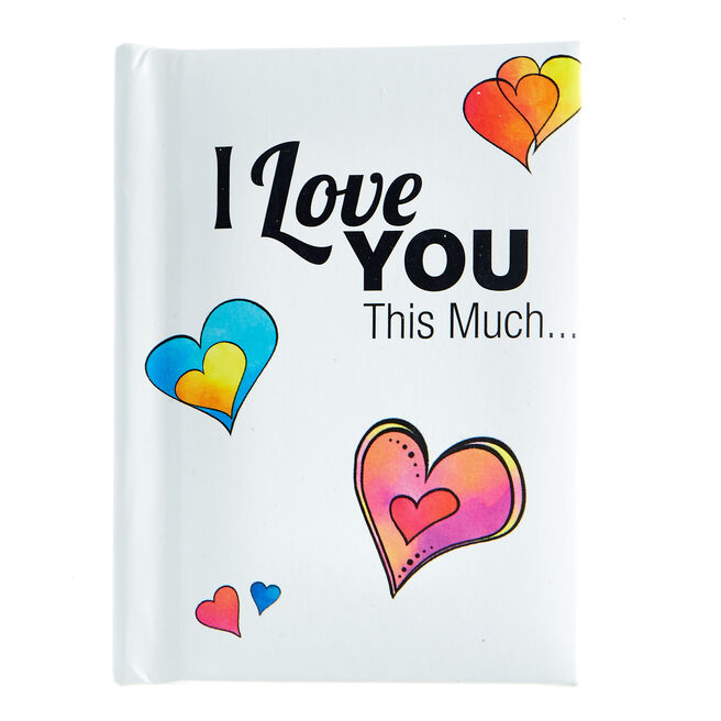 Blue Mountain Arts Keepsake Book - I Love You This Much…
