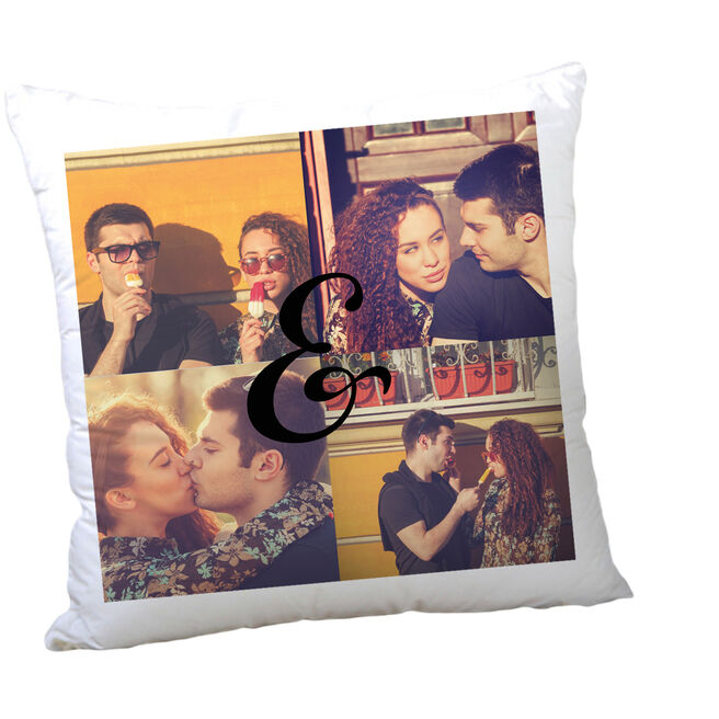 Personalised Photo Cushion - 4 Special Memories