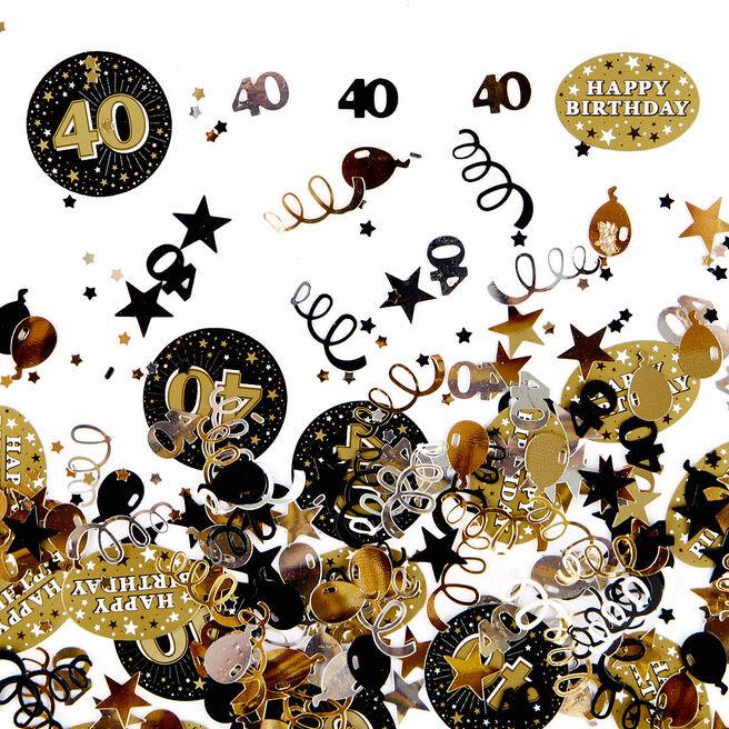 Foiletti - Age 40 Gold 16466