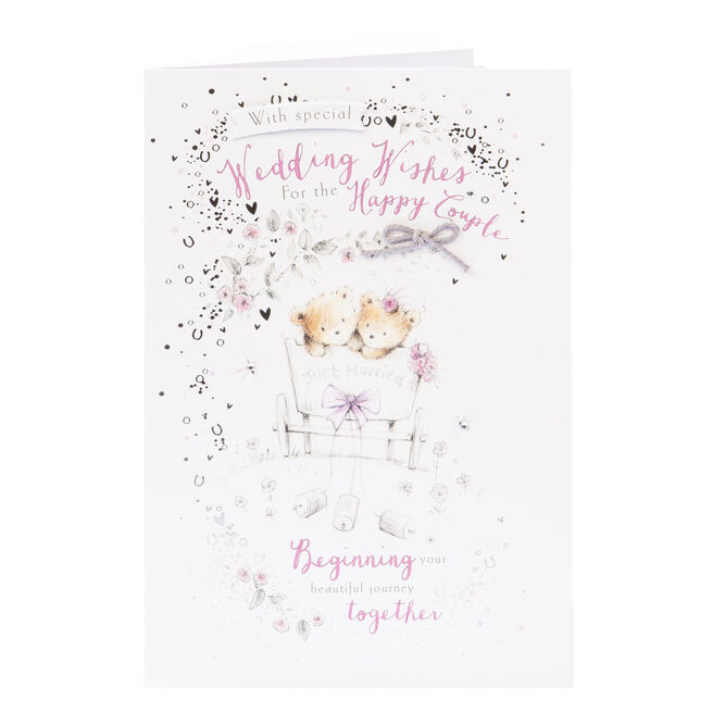 Wedding Card - Beautiful Journey Together