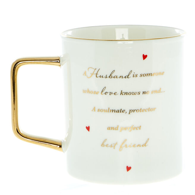Sentimental Husband Mug In A Box
