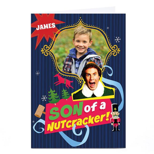 Photo Elf Christmas Card - Son of a Nutcracker!