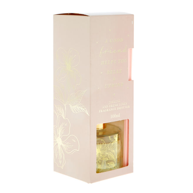 A Good Friend Jasmine & Fresh Linen Fragrance Diffuser
