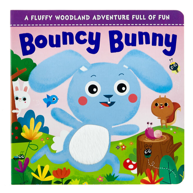 Bouncy Bunny Touch & Feel Storybook