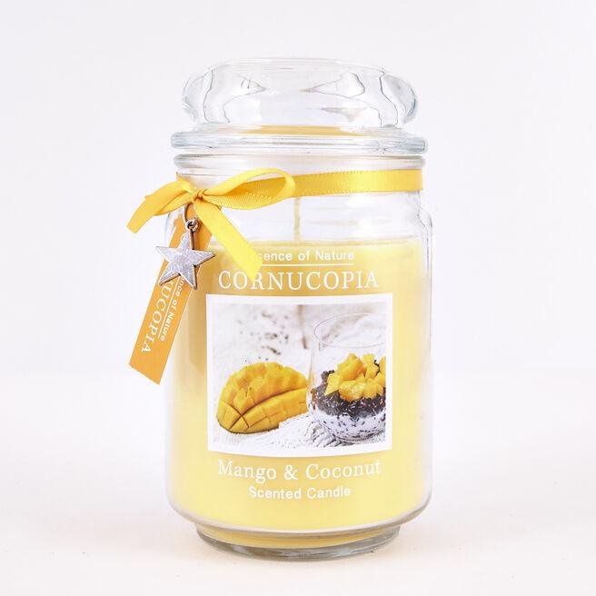 Cornucopia Mango & Coconut Scented Candle