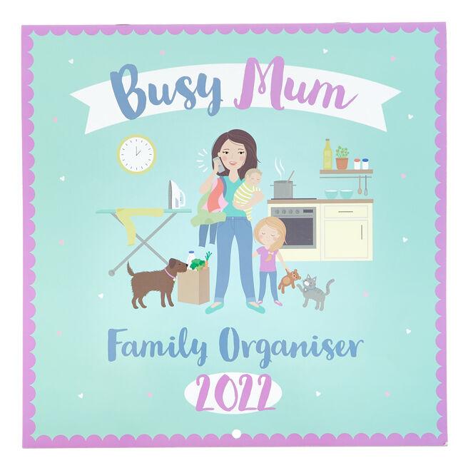 Busy Mum Family Organiser 2022