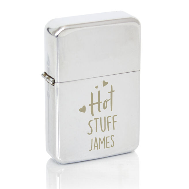 Personalised Lighter - Hot Stuff