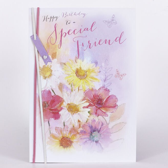 Signature Collection Birthday Card - Special Friend