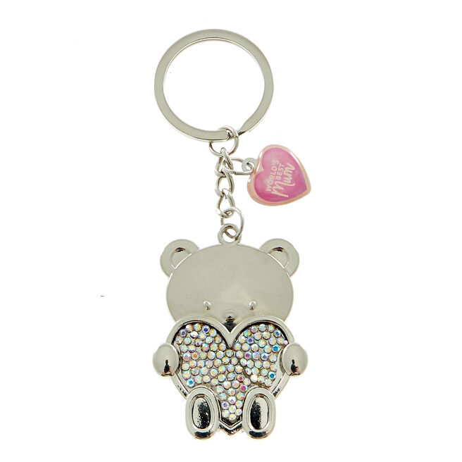 Hugs Bear World's Best Mum Keyring