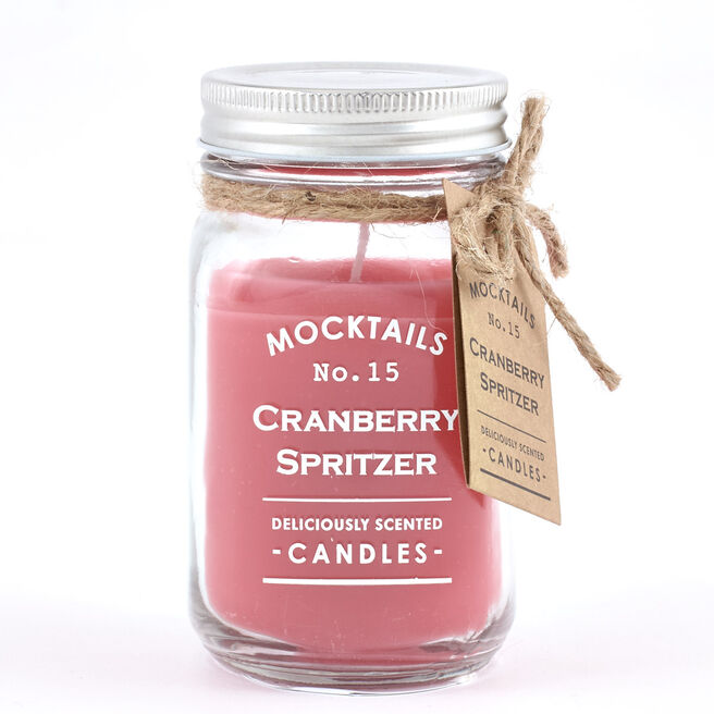 Cranberry Spritzer Mocktail Scented Candle