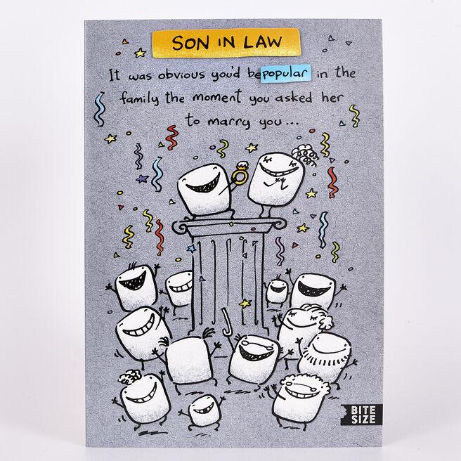 Birthday Card - Son In Law Popular
