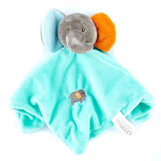 Teeny Wonders Elephant Baby Comforter