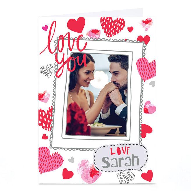 Photo Bev Hopwood Valentine's Day Card - Heart Frame
