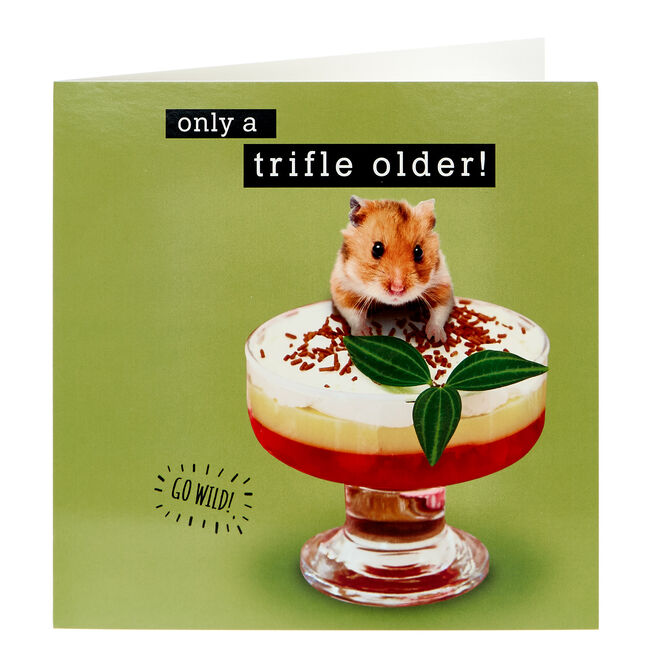 Birthday Card - Only A Trifle Older!