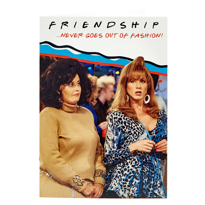 F.R.I.E.N.D.S Birthday Card - Friendship
