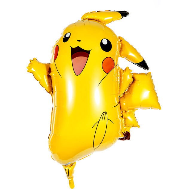 Large Pikachu 31-Inch Foil Helium Pokemon Balloon