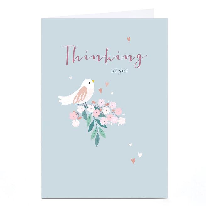 Personalised Klara Hawkins Card - Thinking of You