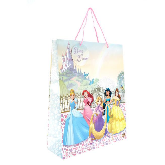 Large Portrait Gift Bag - Disney Princesses